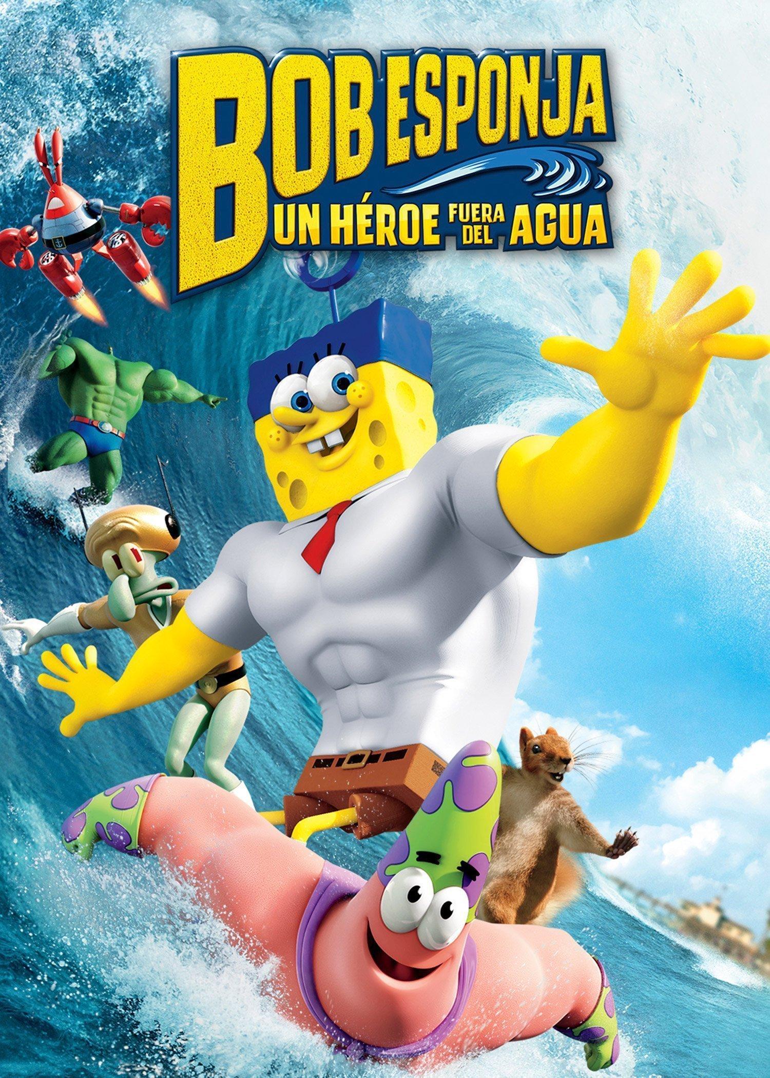 Bob Esponja: un Heroe fuera del agua (Extras)