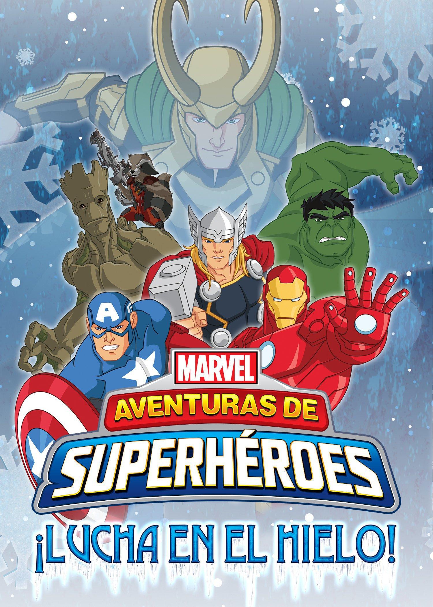 Aventuras de superhéroes: ¡Lucha en el hielo!