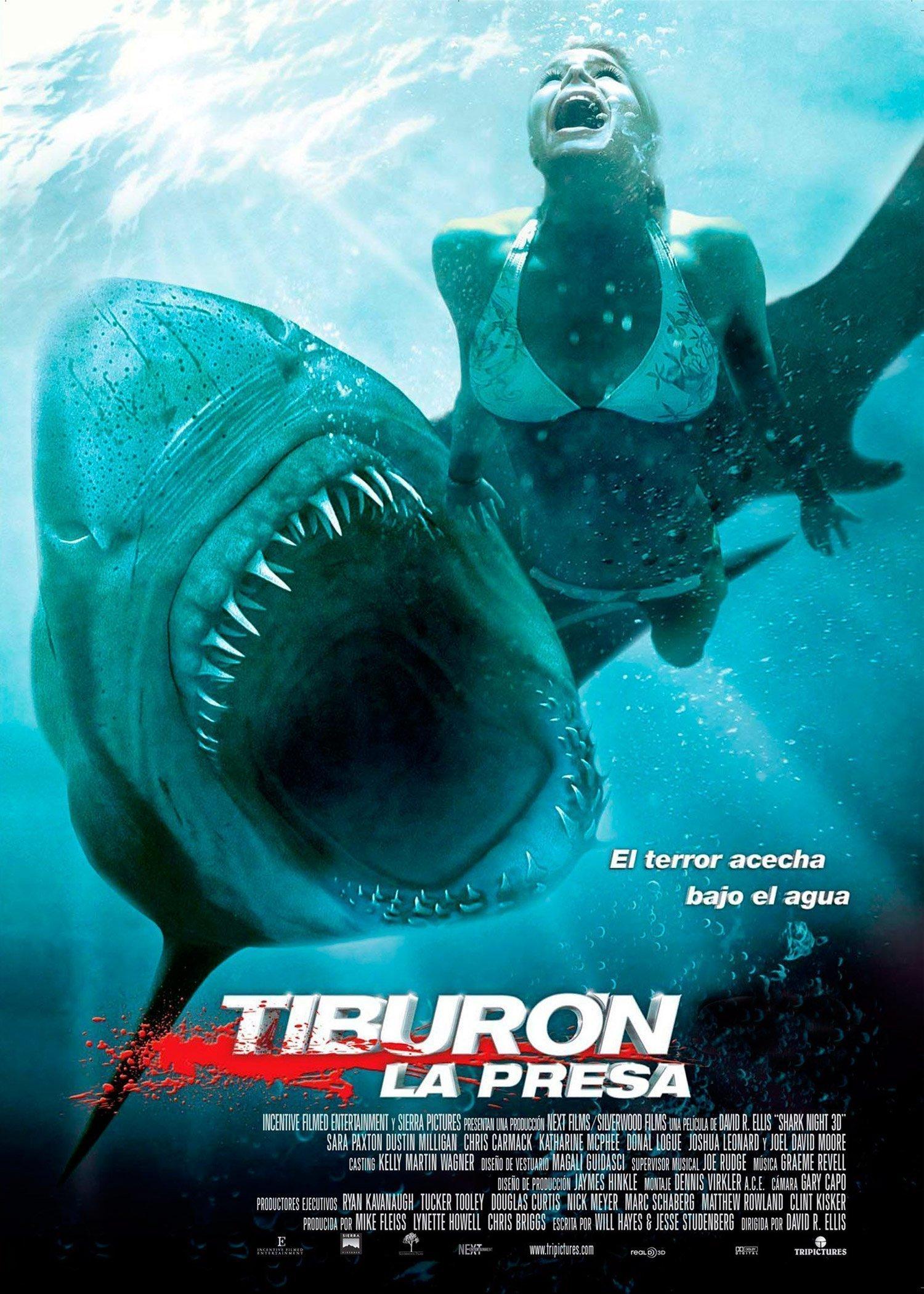 Tiburón 3D La presa (VERSIÓN 2D)
